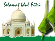 Kartu Lebaran Idul Fitri 2013